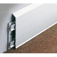 Алюминиевый плинтус и его использование в интерьере