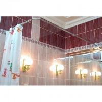 Нужны ли карнизы в ванной ?