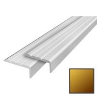 Алюминиевый порог 24х10 мм