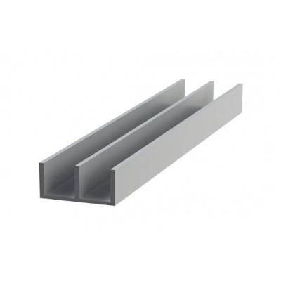 Ш-образный верх алюминиевый 15,6x8,8x1,2
