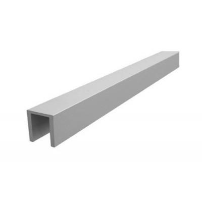 Швеллер алюминиевый 15x12x15x2