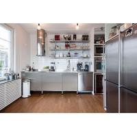 Использование нержавейки в дизайне кухонь